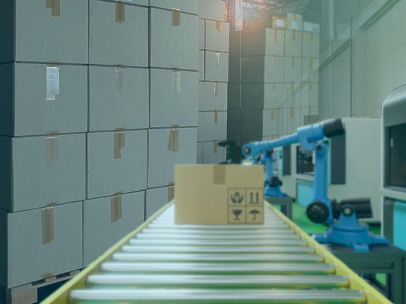 彩盒紙箱自動裝箱疊棧